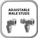 Adjustable Male Studs
