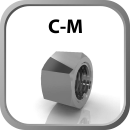 Swivel Nut C - M