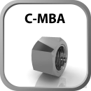 Flared Tube Fitting C - MBA