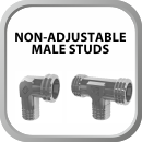 Non-Adjustable Male Studs